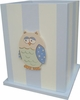 Blue Owl Waste Basket