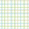 Blue Pastel Woven Plaid Wallpaper