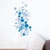 Blue Polka Dots Wall Decal