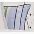 Blue Preppy Stripe Decorative Pillow