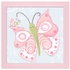 Blue Sky Flutterby Canvas Reproduction