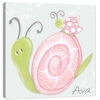 Blue Sky Snail Canvas Reproduction