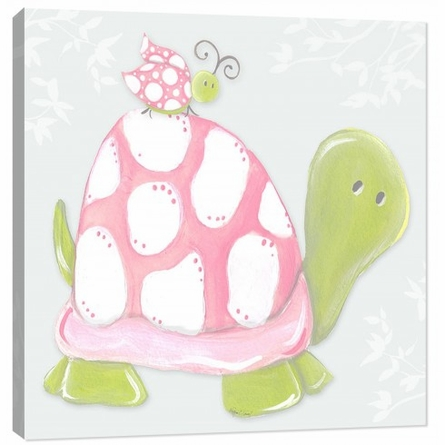 Blue Sky Turtle Canvas Reproduction