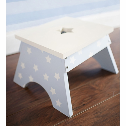 Blue Stars Step Stool