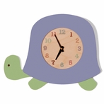 Blue Turtle Wall Clock