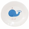 Blue Whale on White Personalized Ceramic Dish Collection