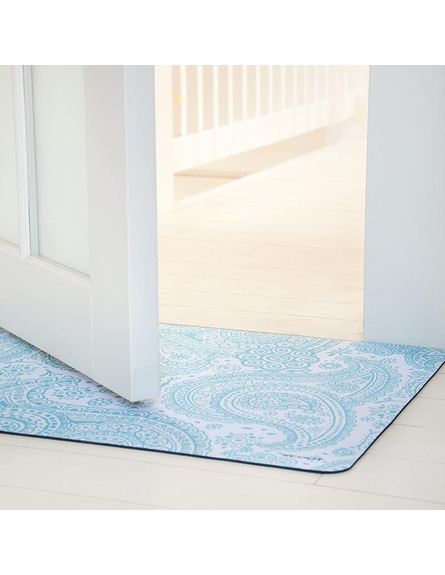 Blueprint Floor Mat