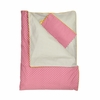 Blush Flower Reversible Toddler Duvet Set