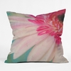 Blushing Moment Throw Pillow