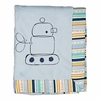 Boa Robot and Galaxy Stripe Baby Blanket