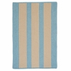 Boat House Rug in Light Blue