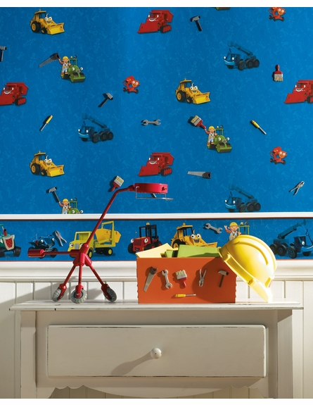 Bob the Builder Wall Charms
