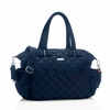 Bobby Quilted Diaper Bag in Navy