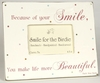Bohemian Bright Because Smiles Tabletop Picture Frame