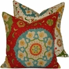 Boho Fiesta Throw Pillow