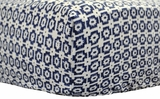 Bojangle in Navy Crib Sheet $(+78.00)