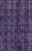 Bold Overdyed Trellis Rug in Purple