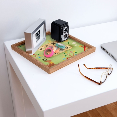 Bonjour Square Tray