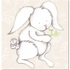 Bonny Bunny in Tan Canvas Reproduction