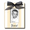Boo! Coal Picture Frame