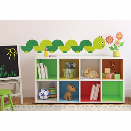 Book Worm Peel & Stick Giant Wall Decals