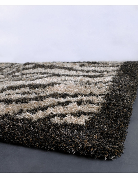 Border Zebra Amazon Rug