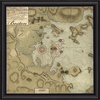 Boston Map 1775 Framed Wall Art