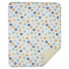 Bot Dot Crib or Toddler Quilted Comforter