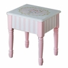 Bouquet Girls Vanity Stool