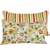 Bouquet Stripe Lumbar Pillow