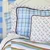 Boutique Blue Collection Standard Sham