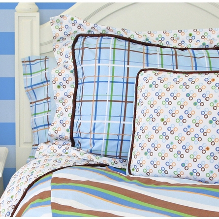 Boutique Blue Duvet Cover