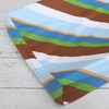 Boutique Diagonal Stripe Changing Pad Cover