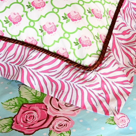 Boutique Pink Collection Standard Sham