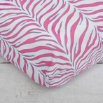 Boutique Zebra Crib Sheet