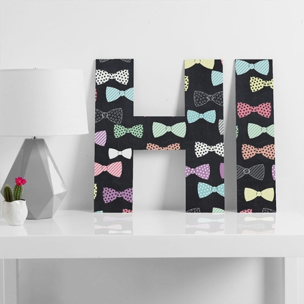 Bow Ties Decorative Letters