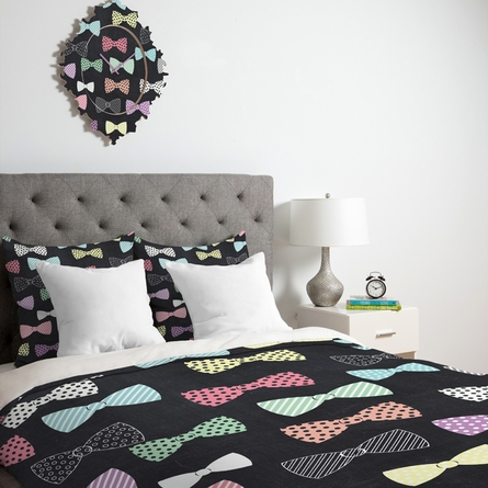 Bow Ties Luxe Duvet Cover