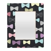 Bow Ties Rectangular Mirror