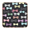 Bow Ties Square Wall Clock