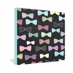 Bow Ties Wrapped Canvas Art