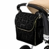 Boxy Backpack Diaper Bag - Black Currant Chenille