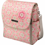 Boxy Backpack Diaper Bag - Blooming Brixham