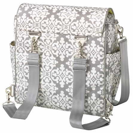 Boxy Backpack Diaper Bag - Breakfast in Berkshire