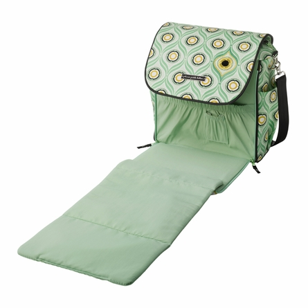 Boxy Backpack Diaper Bag - Captivating Corinth