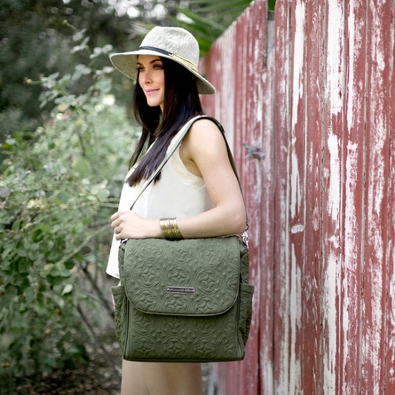 Boxy Backpack Diaper Bag - Casbah Nights