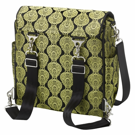 Boxy Backpack Diaper Bag - Golden Topaz Roll