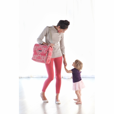 Boxy Backpack Diaper Bag - Happiness in Hamburg