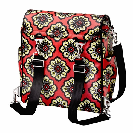 Boxy Backpack Diaper Bag - Lively Lima