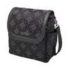 Boxy Backpack Diaper Bag - Paris Noir