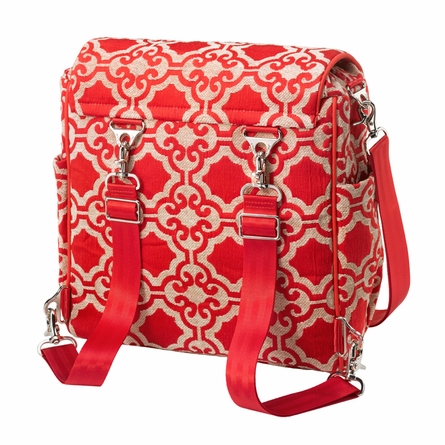 Boxy Backpack Diaper Bag - Persimmon Spice
